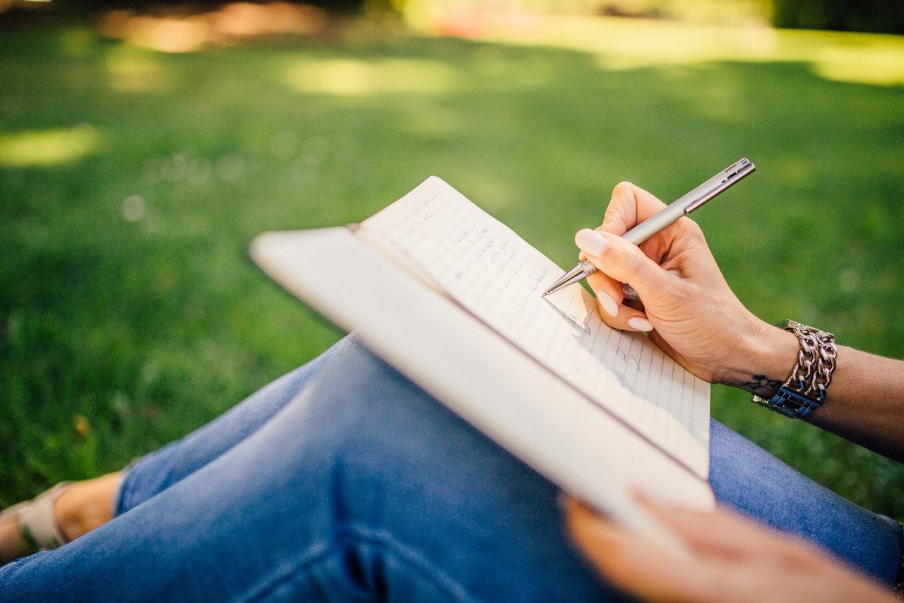 Leben genießen - schreibe einen Brief an dich selbst