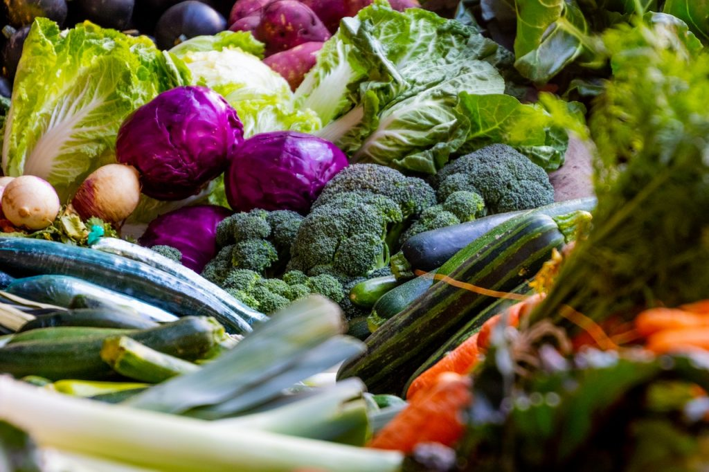 buntes Gemüse für eine gesundes Ernährung und ein gesundes Gewicht