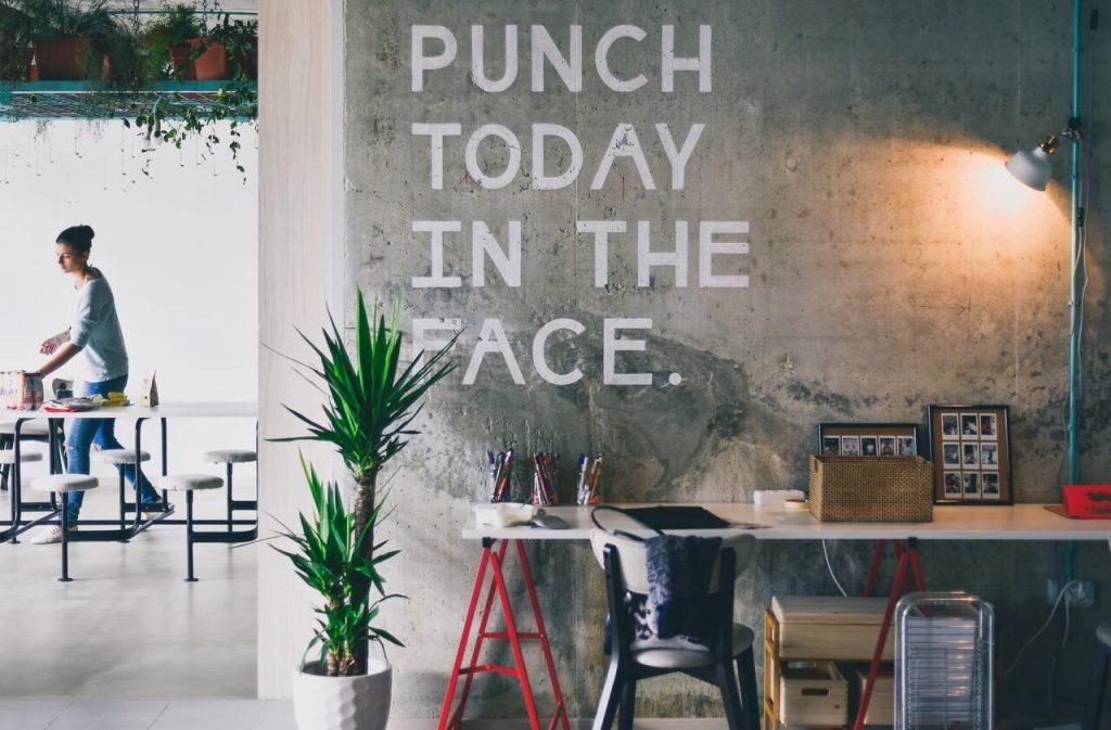 punch today in the face - hole das beste aus deinem Tag heraus